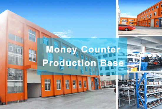 Banknote counter production workshop